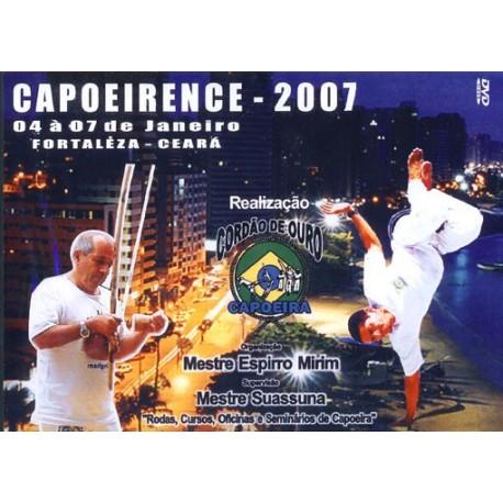 DVD Capoeirence 2007 - Mestre Suassuna