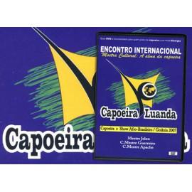 DVD Encontro internacional - Capoeira Luanda