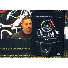 DVD Oficina da capoeira - Internacional 10 anos