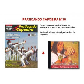 Revue Praticando Capoeira N°36 + CD