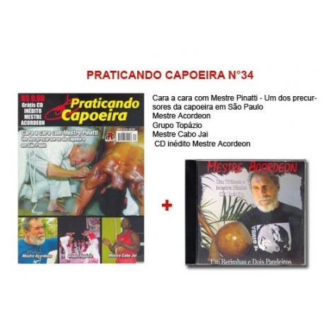 Revue Praticando Capoeira N°34 + CD