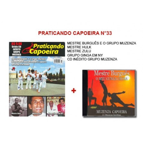Revue Praticando Capoeira N°33 + CD