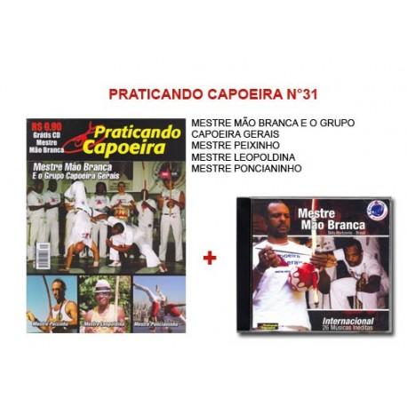Revue Praticando Capoeira N°31 + CD