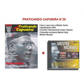Revue Praticando Capoeira N°29 + CD