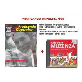 Revue Praticando Capoeira N°28 + CD