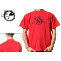 Red capoeira tshirt - Viajar