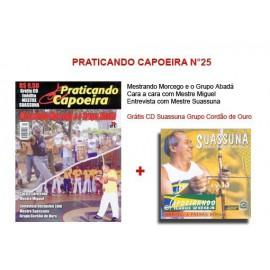 Revue Praticando Capoeira N°25 + CD