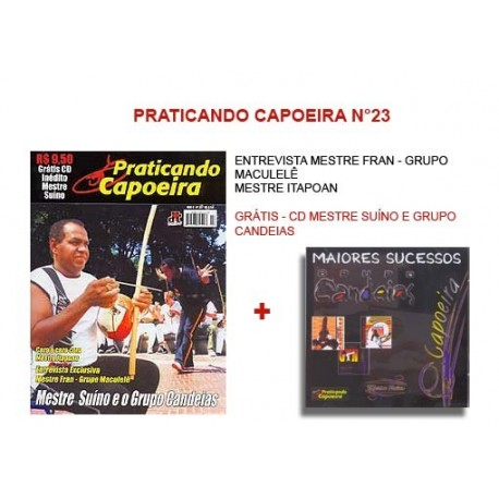 Revue Praticando Capoeira N°23 + CD