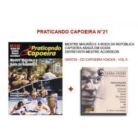 Revue Praticando Capoeira N°21 + CD