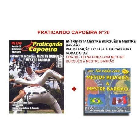 Revue Praticando Capoeira N°20 + CD