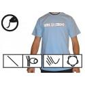 Sky blue capoeira tshirt - Ideogrammes
