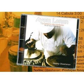 CD Mestre Obashanan - Ayom Lonan-O caminho dos tambores