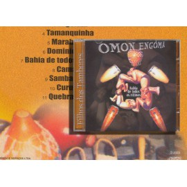"""CD """"Omon Engoma"""" - percussion bahianaise"""