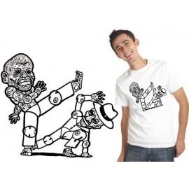 Tshirt capoeira Bimba-Pastinha TS11