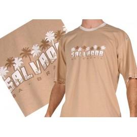 Tshirt Brasil Arte Homme - Palmiers Salvador