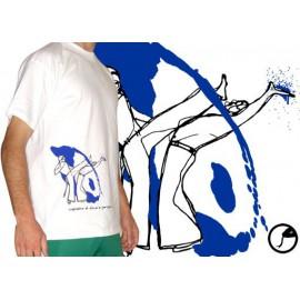 "Tee-shirt Cobracoral  © - Swing - ""Bençao"" blanc"