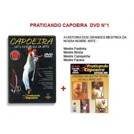 Revue Praticando Capoeira DVD N°1