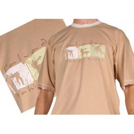 Beige capoeira tshirt - Ideogrammes
