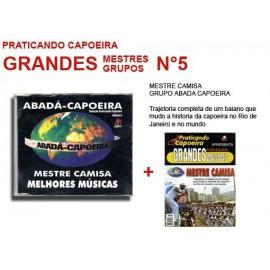 Revue Praticando Capoeira Grandes Mestres  N°5 + CD