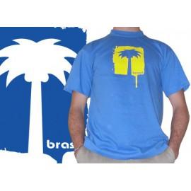 Palmeira blue capoeira tshirt