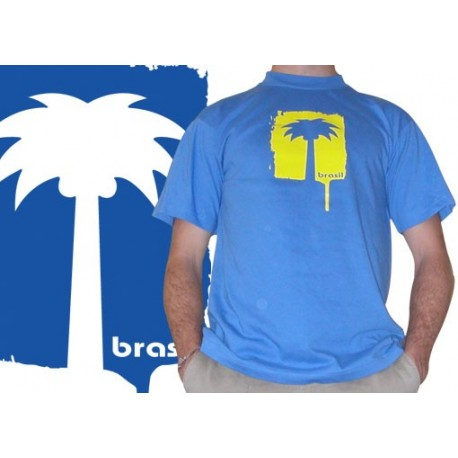 Tshirt Cobracoral Brasil - Palmera bleu