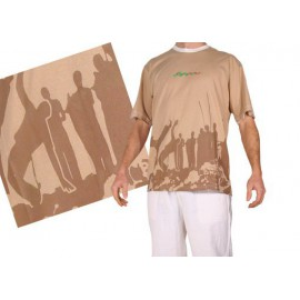 Tshirt Brasil Arte Homme Roda Capoeira 1