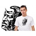 Tshirt capoeira visage du Mestre Bimba TS11