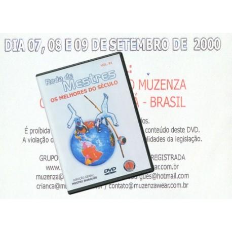 DVD Roda de Mestres - os Melhores do século-vol 01
