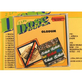 CD-Olodum Madagascar - 10 anos - 2 CD