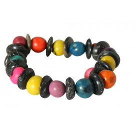 bracelet simple acai multicolore