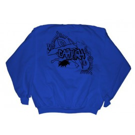 Sweat shirt enfant Capoeira bleu ENF01
