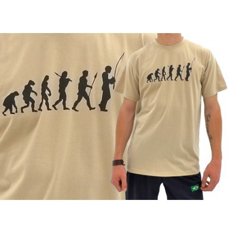 Tshirt évolution du capoeiriste TS11- sable