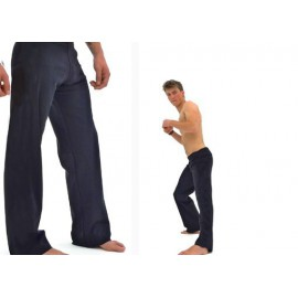 Black capoeira pants Marimbondo Sinha