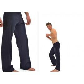 Pantalon de capoeira Marimbondo Sinha Abada noir