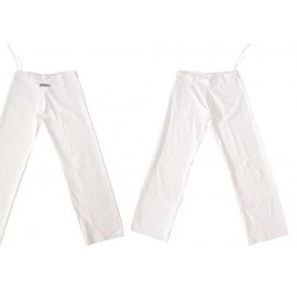 White capoeira pants for children Marimbondo Sinha
