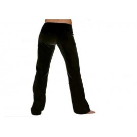 Pantalon de capoeira noir femme Marimbondo Sinha