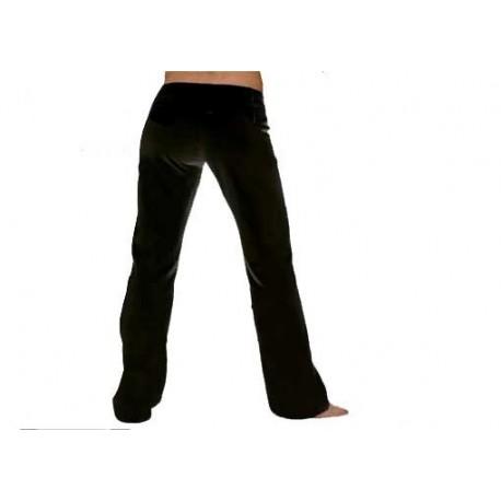 Pantaloni neri da capoeira da Donna - Marimbondo Sinha