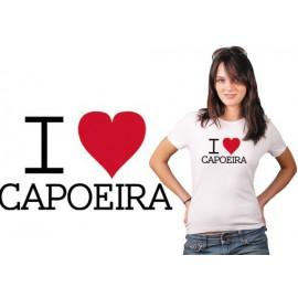 Tshirt capoeira I love capoeira TS11
