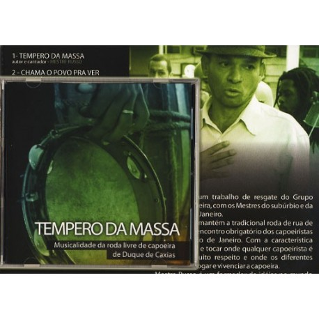 "CD ""Tempero da Massa"" Mestre Russo"