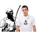 Bimba playing capoeira tshirt