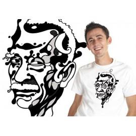Pastinha face capoeira t-shirt