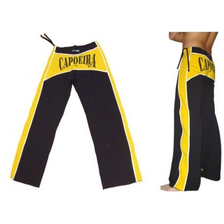 Pantalon de capoeira M.S. Dibum Noir et jaune