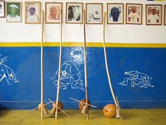 Instrumentos de capoeira