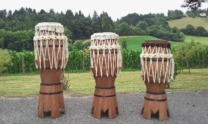 Instruments de capoeira