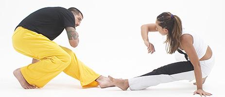 Pantaloni capoeira